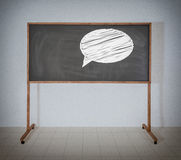 Talk sign Stock Photos
