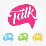 Talk Social Media Business Symbol Royalty Free Stock Photography