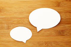 Talk speech bubble Stock Images