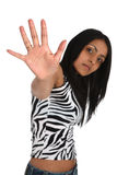 Talk to the hand Royalty Free Stock Photo