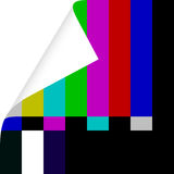 Talk About TV. Hi Resolution Television Color Check Bars Texture Royalty Free Stock Photos