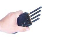Talkie-walkie à disposition Photographie stock libre de droits