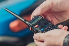 Talkie - walkie Images libres de droits