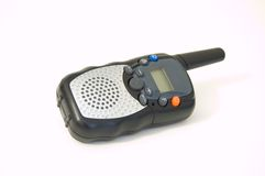 Talkie-walkie par radio Photographie stock