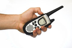 Talkie-walkie par radio de concept Image stock