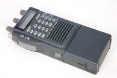 Talkie-walkie tenu dans la main Photos stock