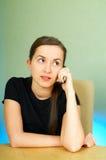 talkin för celltelefon Royaltyfri Fotografi