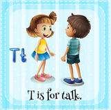 talking Imagen de archivo libre de regalías