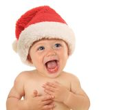 Talking baby stock images