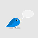 Talking bird Royalty Free Stock Photos