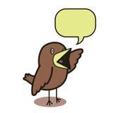 Talking bird 01 Stock Image