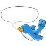 Talking Bird Royalty Free Stock Photography