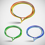 Talking bubbles Royalty Free Stock Image