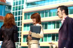 Talking Business 2 Royalty Free Stock Images
