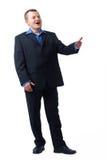 Talking Businessman. Stock Images