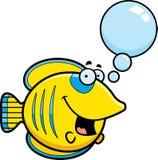 Talking Cartoon Butterflyfish stock illustration
