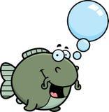 Talking Cartoon Catfish Royalty Free Stock Image