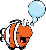 Talking Cartoon Clownfish Stock Photos