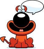 Talking Cartoon Devil Royalty Free Stock Image