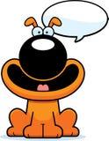 Talking Cartoon Dog. A cartoon illustration of a dog talking Stock Photography