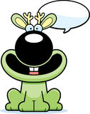 Talking Cartoon Jackalope Stock Image