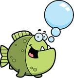 Talking Cartoon Piranha Stock Photos