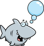 Talking Cartoon Shark Stock Image