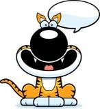 Talking Cartoon Tasmanian Tiger Royalty Free Stock Photo