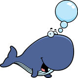 Talking Cartoon Whale Stock Images
