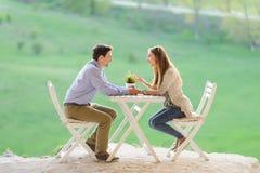 Talking Couple Royalty Free Stock Image