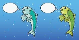 Talking Fish Royalty Free Stock Photo