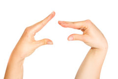 Talking hands Royalty Free Stock Images