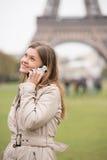 Talking in Paris Stock Image