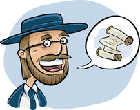 Talking Rabbi Stock Photos