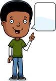 Talking Teen Boy. A cartoon illustration of a teenage boy talking Stock Photo