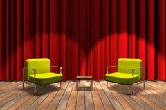Talkshow betriebsbereit Lizenzfreie Stockfotografie