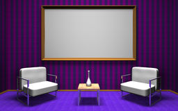 Talkshowraum vektor abbildung
