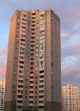 Tall apartment building Stock Images