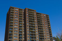 Tall apartment building Royalty Free Stock Photos