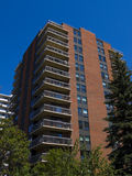 Tall apartment building Residential architec Stock Photos
