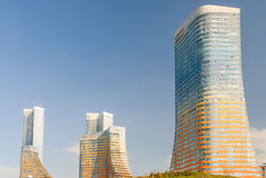 Tall apartment buildings Stock Photos