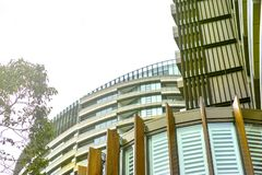 Tall Apartment Buildings at Olympic Park, Sydney, Australia Royalty Free Stock Image