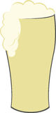Tall Beer Stock Image