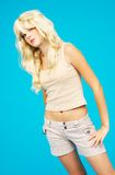Tall and blond stock images