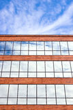 Tall Brick Office Building Royalty Free Stock Image