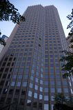 Tall Building. View looking up, at a tall building Stock Photos