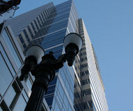 Tall building. Looking up at a tall building in Portland Oregon Stock Image