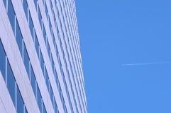 Tall Building 6. Modern building shines in the sun Stock Photos