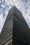 Tall Building on cloudy sky Stock Photography