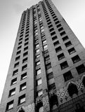 Detroit skyscraper building royalty free stock image